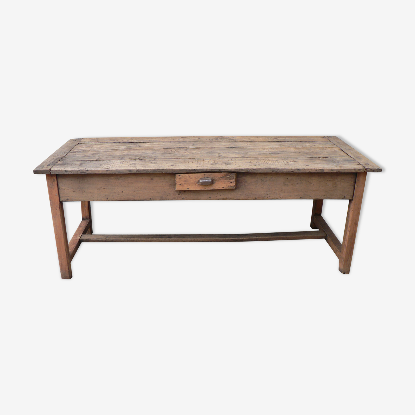 Table de ferme tiroirs 2m