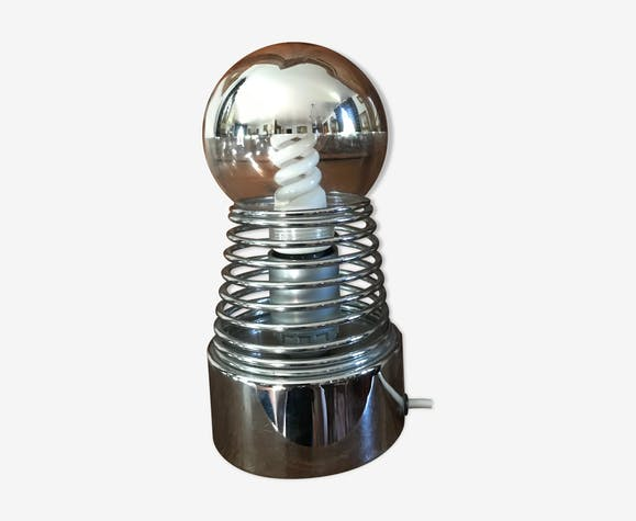 Lampe de table ressort année 70