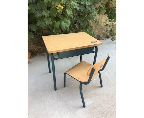 Bureau écolier et sa chaise