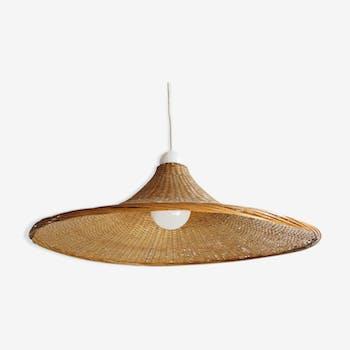 Rattan hanging Hat shape