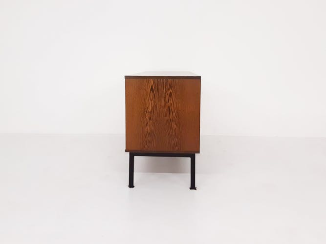 Buffet Martin Visser pour 't Spectrum KW80 Freestanding Wengé Pays-Bas 1965