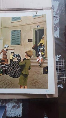 Affiche Fernand Nathan datée de 1967