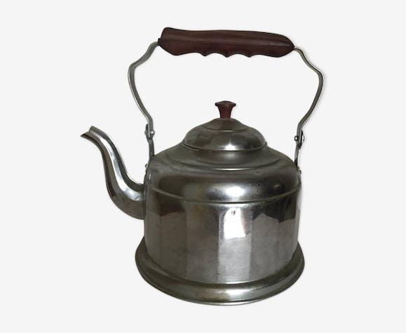 Old aluminum kettle