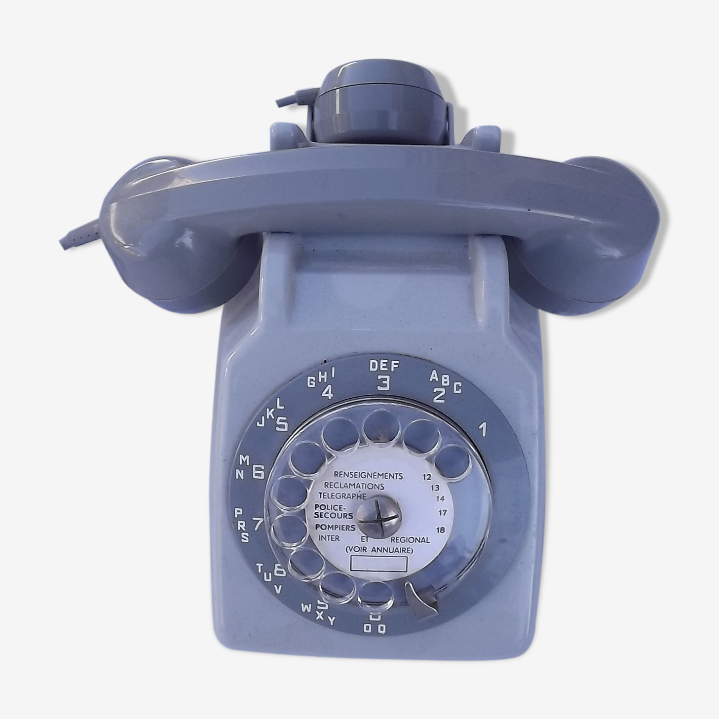 Vintage PTT dial telephone, 70's