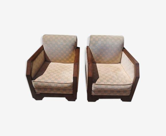 paire de fauteuil art dco 1940 - Fauteuil Art Deco