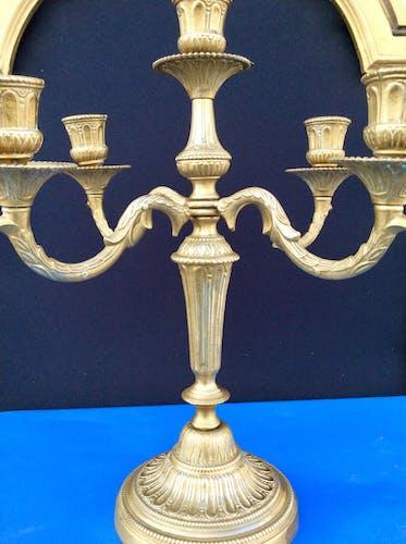 Paire de chandeliers anciens