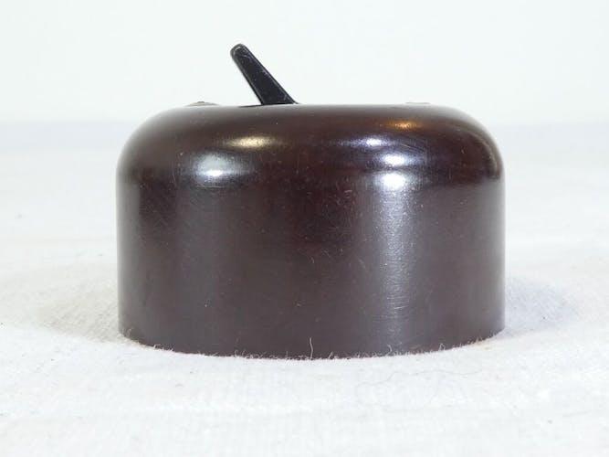 Interrupteurs '' va et vient '' en bakelite vintage