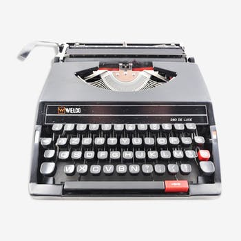 SR280 Welco vintage typewriter revised with ribbon new
