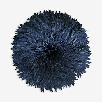 Juju hat in feathers of cameroon 85 cm