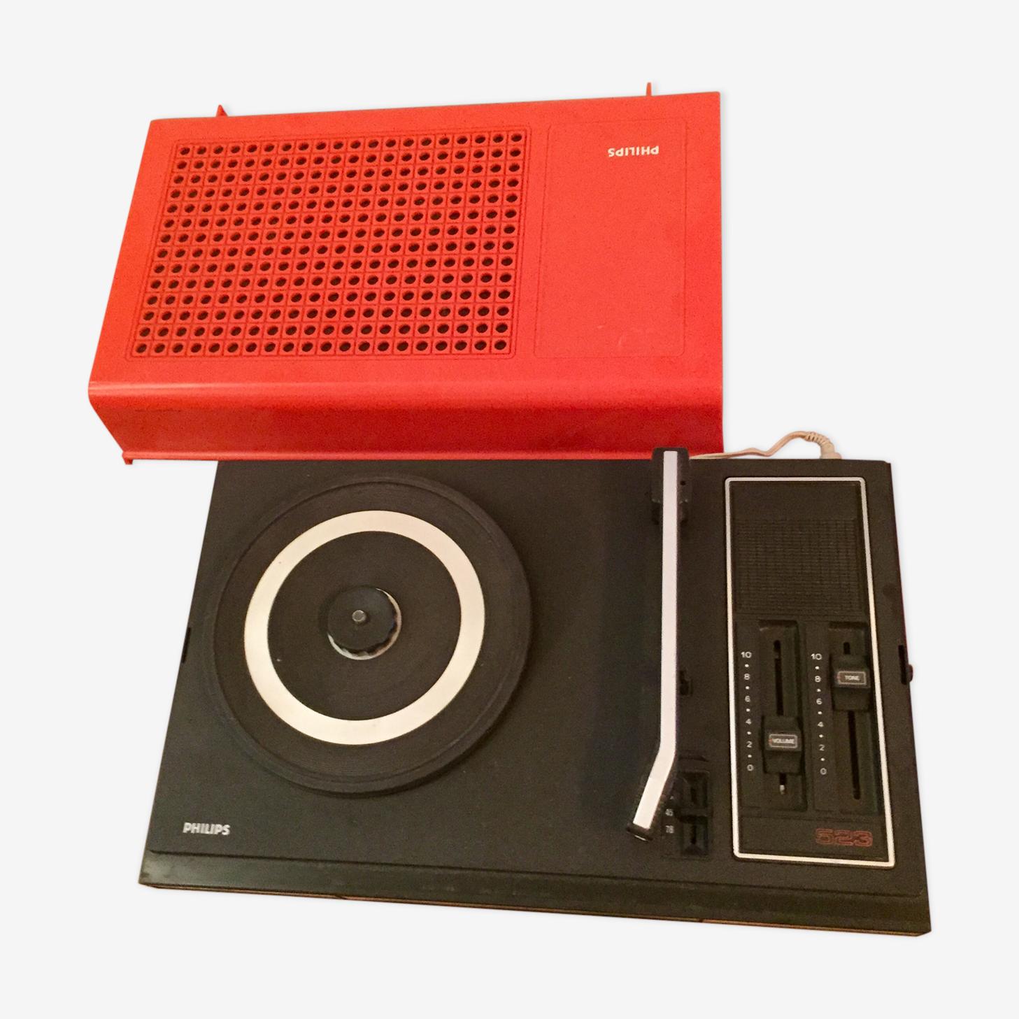 Tourne-disque Philips vintage