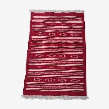 Berber kilim red 95x65cm