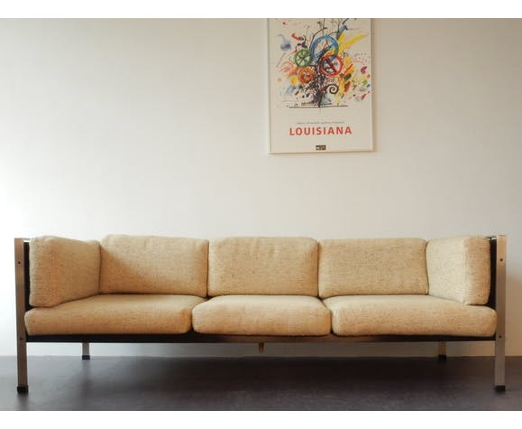 Hedendaags Early vintage sofa by Jan des Bouvrie, The Netherlands 1962   Selency MB-88