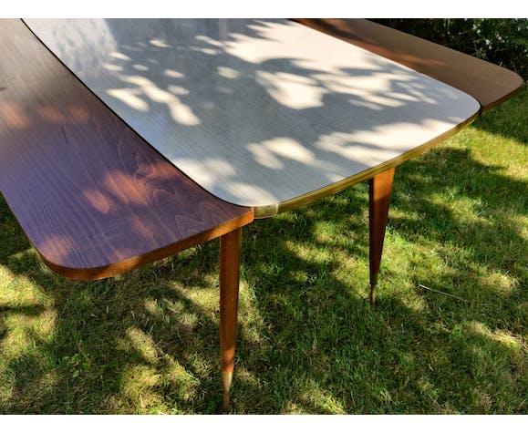 Table modulable années 50