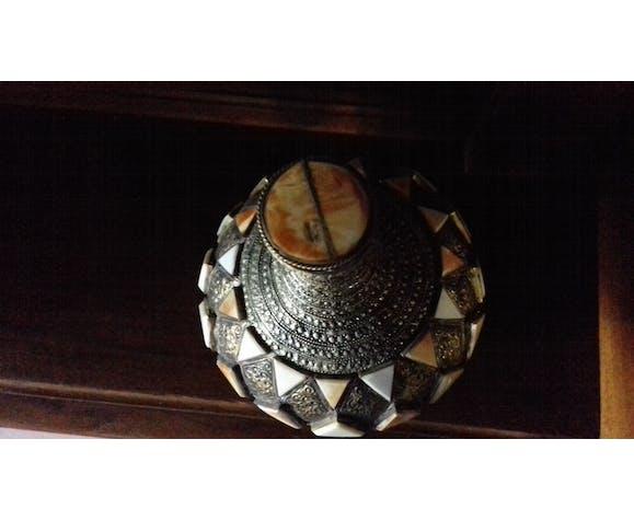 Bouteille en céramique tunisienne ancienne