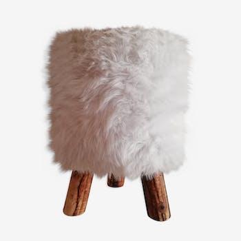 Stool scandinavian rug