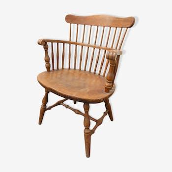 Yugoslav wooden armchair