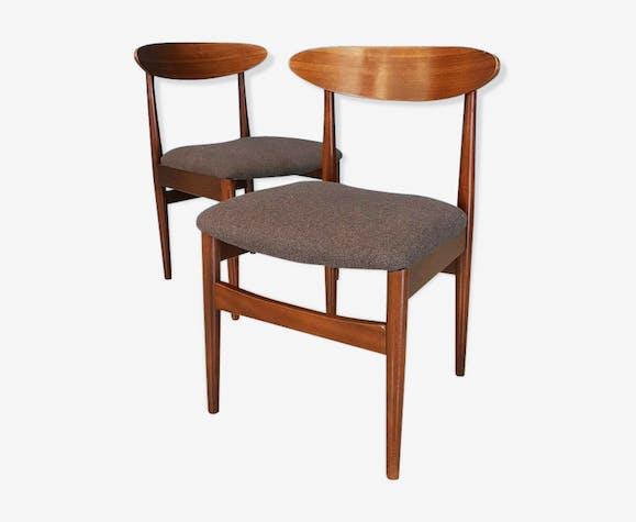 Paire de chaises scandinave