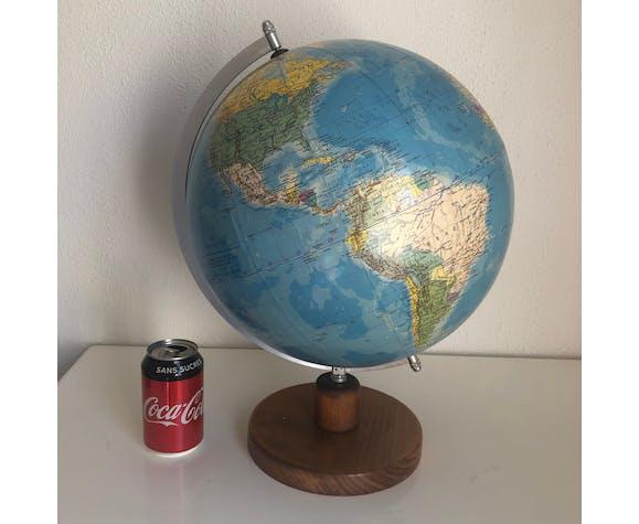 Earth Globe of Ràth ex-GDR vintage 1983 - 45 cm