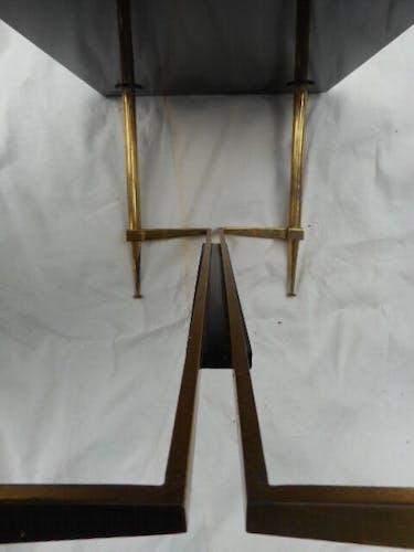 Table basse laiton 1950'