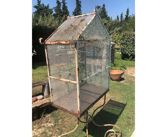 Cage oiseaux ancienne 19ème