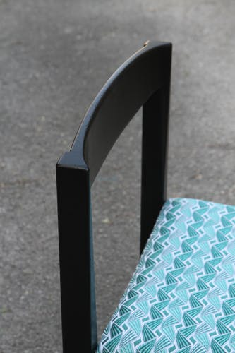 Suite de six chaises de Ulferts Tibro des années 60