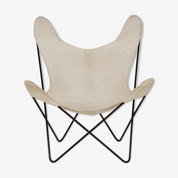 "Jorge Ferrari-Hardoy ""BKF"" Butterfly lounge chair for Knoll, 1950's"