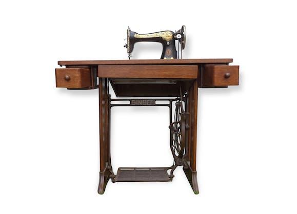 meuble machine coudre singer - Table Machine A Coudre