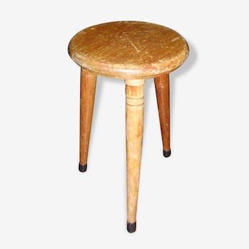 Petite table sellette, chevet, bout de canapé en bois des années 60/70