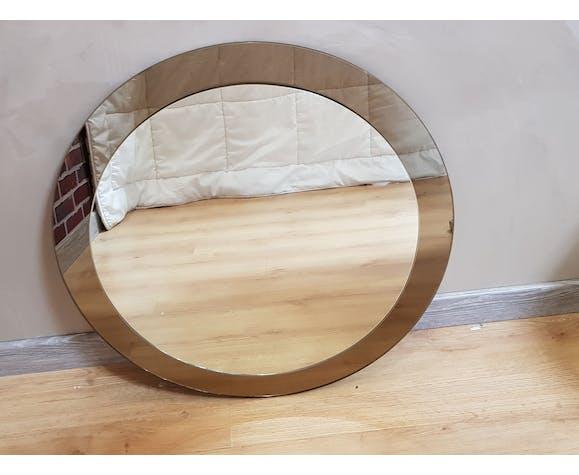Double mirror, two dyed, Italian design veca