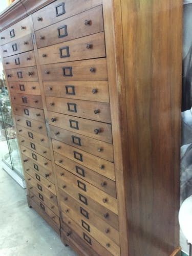 Notary solid walnut antique furniture