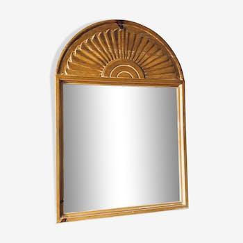Miroir style colonial  83x83cm