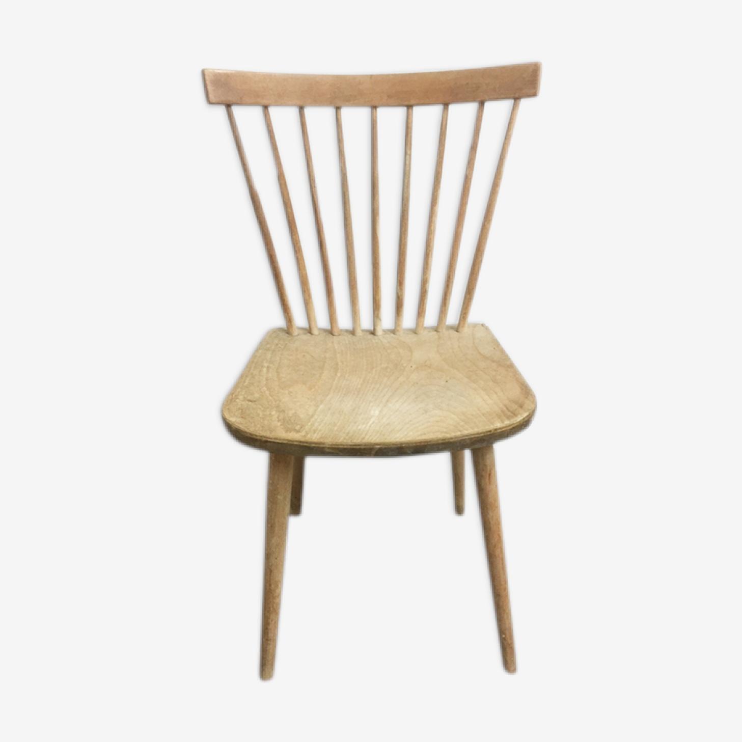 Chaise scandinave à barreaux, 1960