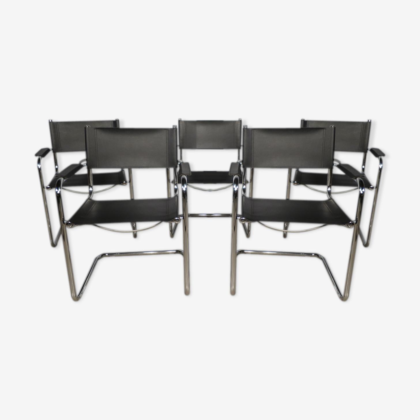 5 fauteuils