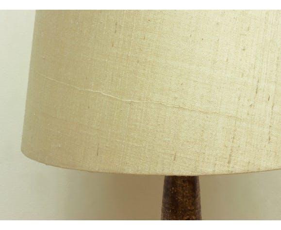 Ceramic & fabric desk lamp, 1960