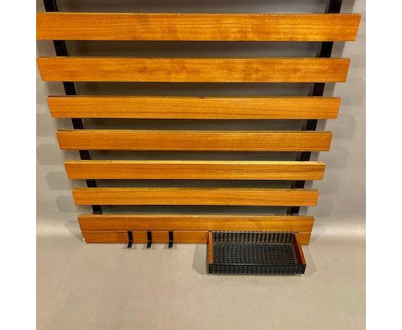 Scandinavian modular coat rack 1950