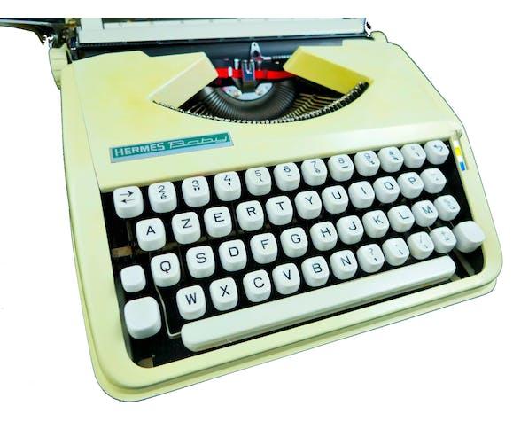 Machine à écrire Hermes Baby Beige