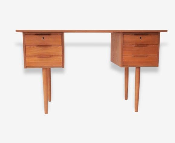 Petit bureau scandinave années 50 - bois (Matériau) - scandinave ...