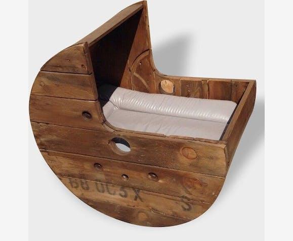 touret en bois landau bebe d co industrielle transat. Black Bedroom Furniture Sets. Home Design Ideas