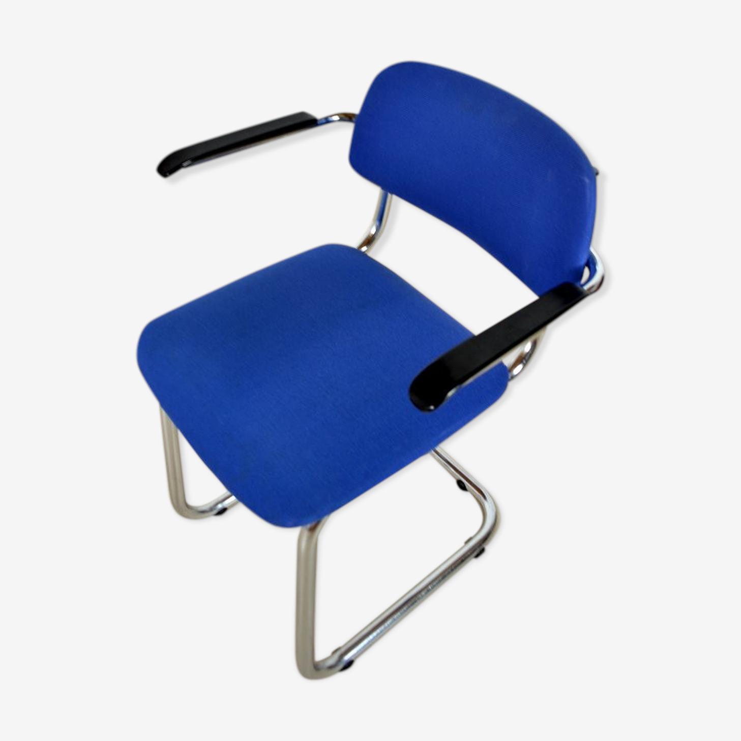 Chaise Luge Gispen années 60 vintage