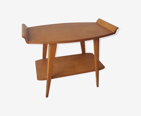 Table Basse Bois Clair Années 50 Bois Matériau Bois Couleur