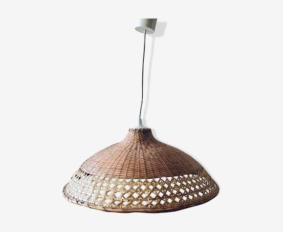 Bohemian wicker pendant light