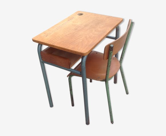 Schoolboy desk and Chair