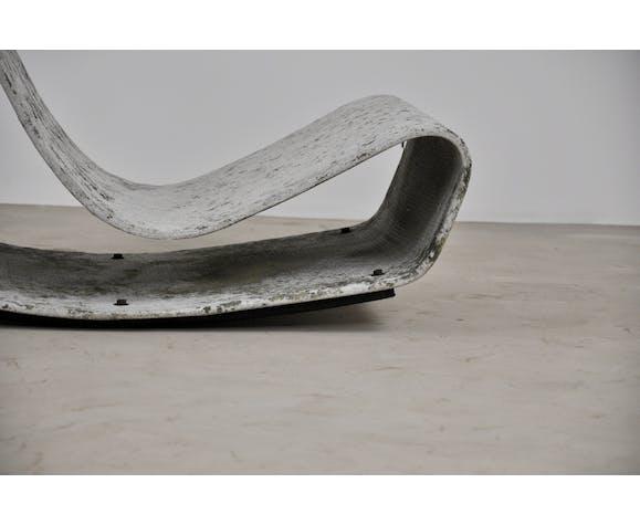 Loop lounge chairs par Willy Guhl pour Eternit  1950s