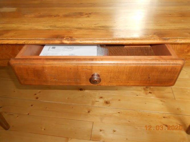 Table de refectoire en orme 290 x 90 cm