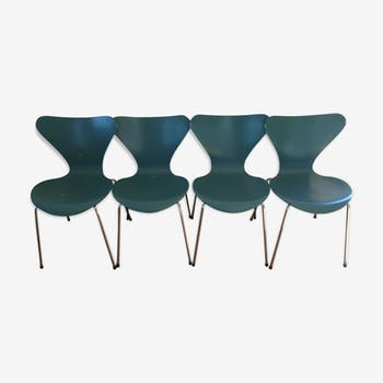 Set of 4 chairs by Arne Jacobsen for Fritz Hansen