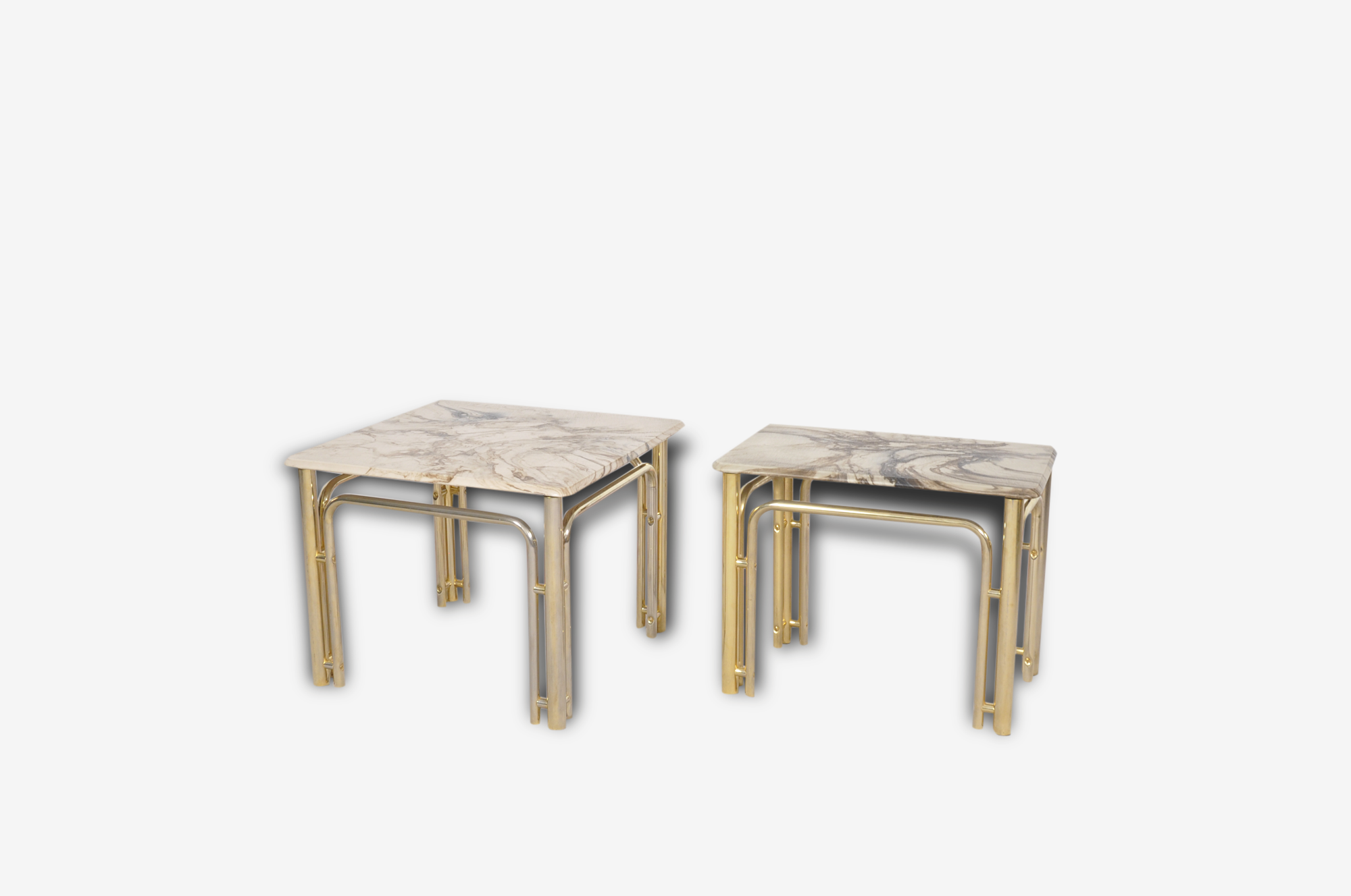 Hollywood Regency Coffee Tables,set of 2, 1970's