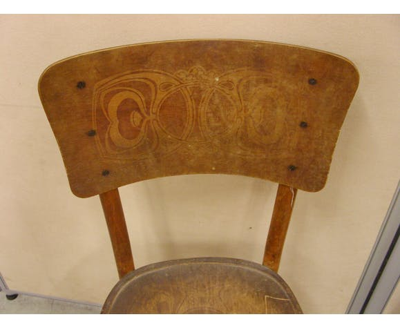 Lot de 6 chaises bistrot vintage