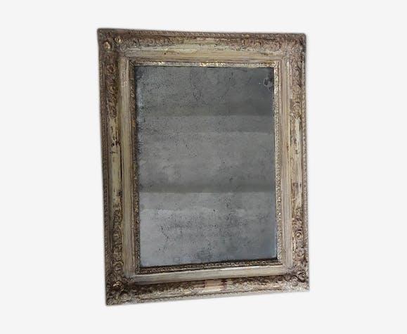 Miroir ancien 55 x 43cm