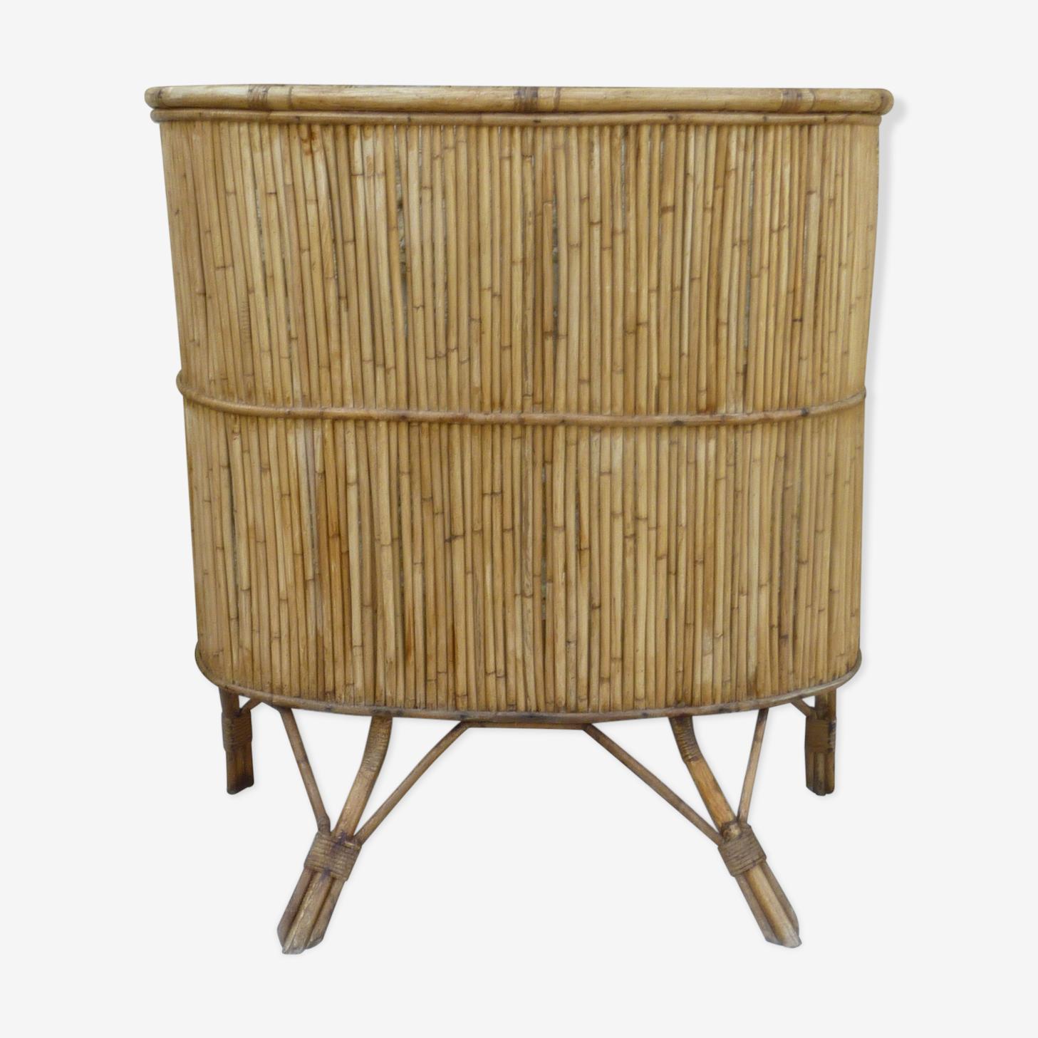 The 1960s rattan bar