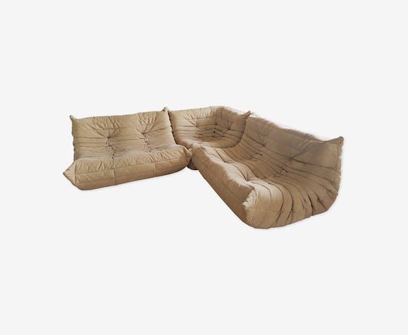 Canapé d'angle Togo par Michel Ducaroy pour Ligne Roset